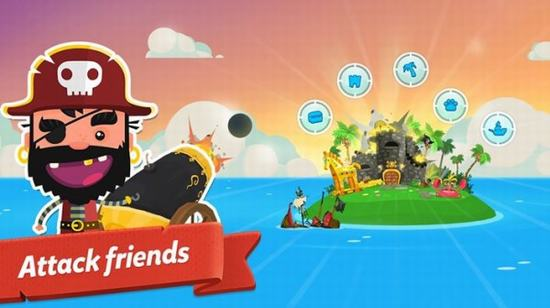 Pirate Kings - Game mobile gây náo loạn Facebook ảnh 3