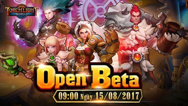 [HOT] Game thủ Torchlight Mobile tưng bừng chào Open Beta